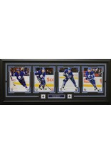 AUSTON MATTHEWS 4 PHOTO 16X42 FRAME - TORONTO MAPLE LEAFS