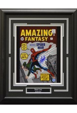 STAN LEE SPIDERMAN - AMAZING FANTASY AUTOGRAPH 16X20 FRAME