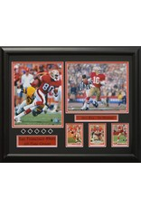 SAN FRANCISCO 49ERS ALL-TIME GREATS 16X20 FRAME