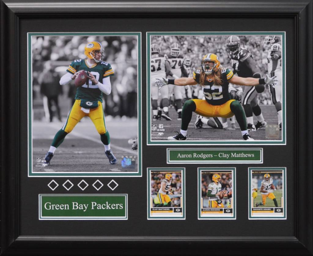 GREEN BAY PACKERS CURRENT 16X20 FRAME