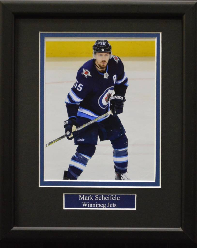 MARK SCHEIFELE 8X10 FRAME - WINNIPEG JETS