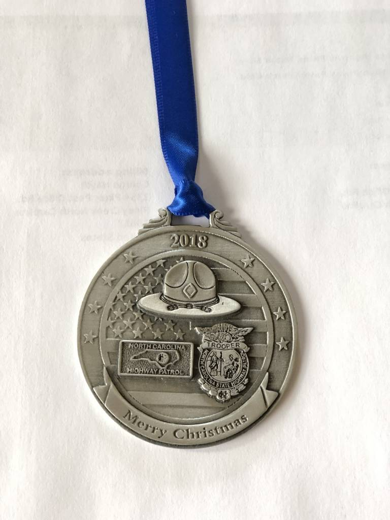 2018 Pewter Christmas Ornament