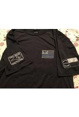 Oakley Thin Blue Line Ronald Regan Quote T-shirt
