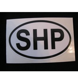 Oval SHP Decal