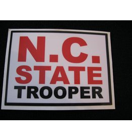 NC State Trooper Decal