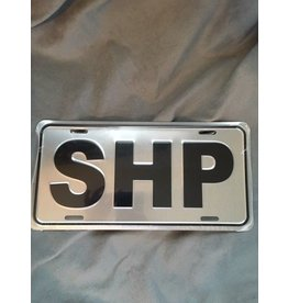 SHP License Plate