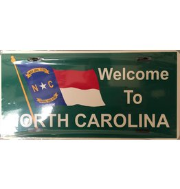 Welcome to North Carolina License Plate