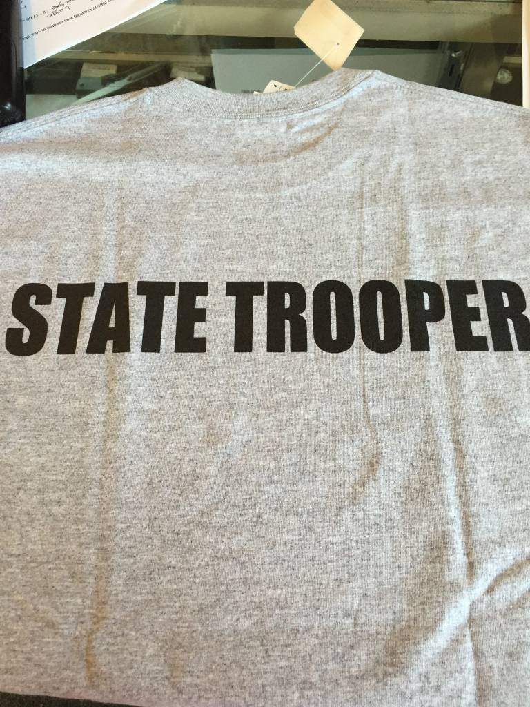66d293f5a State Trooper T-Shirt - NC Troopers Association Store