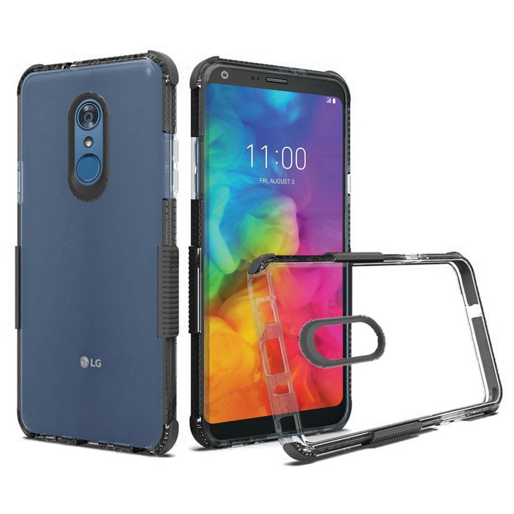 cheap for discount cfb01 94eaa Premium Sturdy Shockproof Bumper Case for LG Q7 Plus