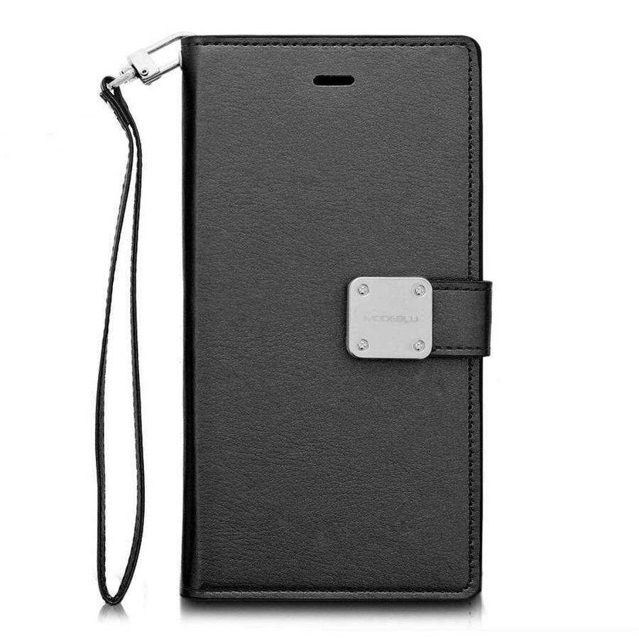 ModeBlu PU Leather Wallet MB Mode Diary Case for iPhone XR