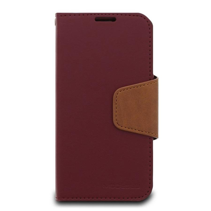 ModeBlu PU Leather Wallet Classic Diary Case for iPhone XR