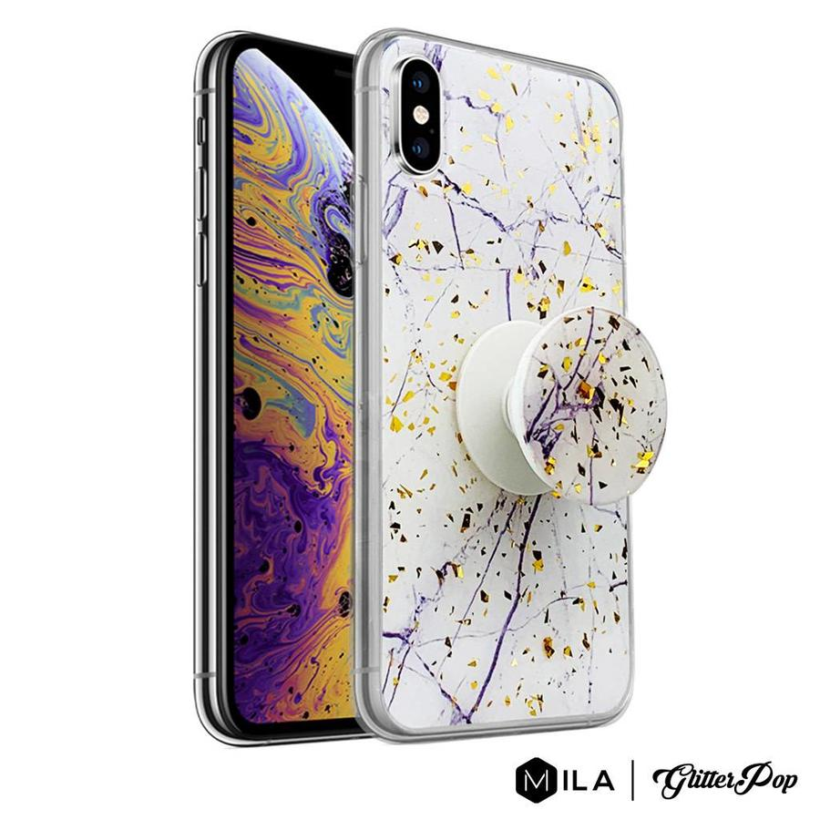 MILA   GlitterPop Design Case for iPhone X / XS