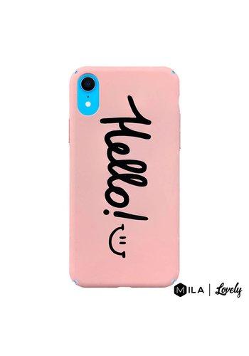 MILA | Lovely Hello Case for iPhone XR