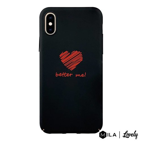 MILA   Lovely Better Me Case for iPhone X / XS
