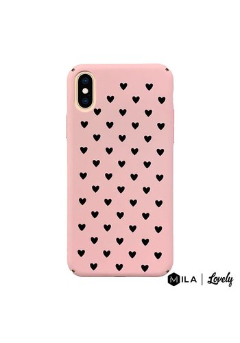 MILA | Lovely Heart Pattern Case for iPhone X / XS
