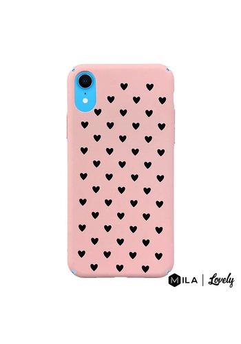 MILA | Lovely Heart Pattern Case for iPhone XR