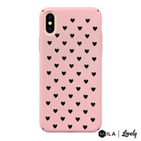MILA | Lovely Heart Pattern Case for iPhone XS Max