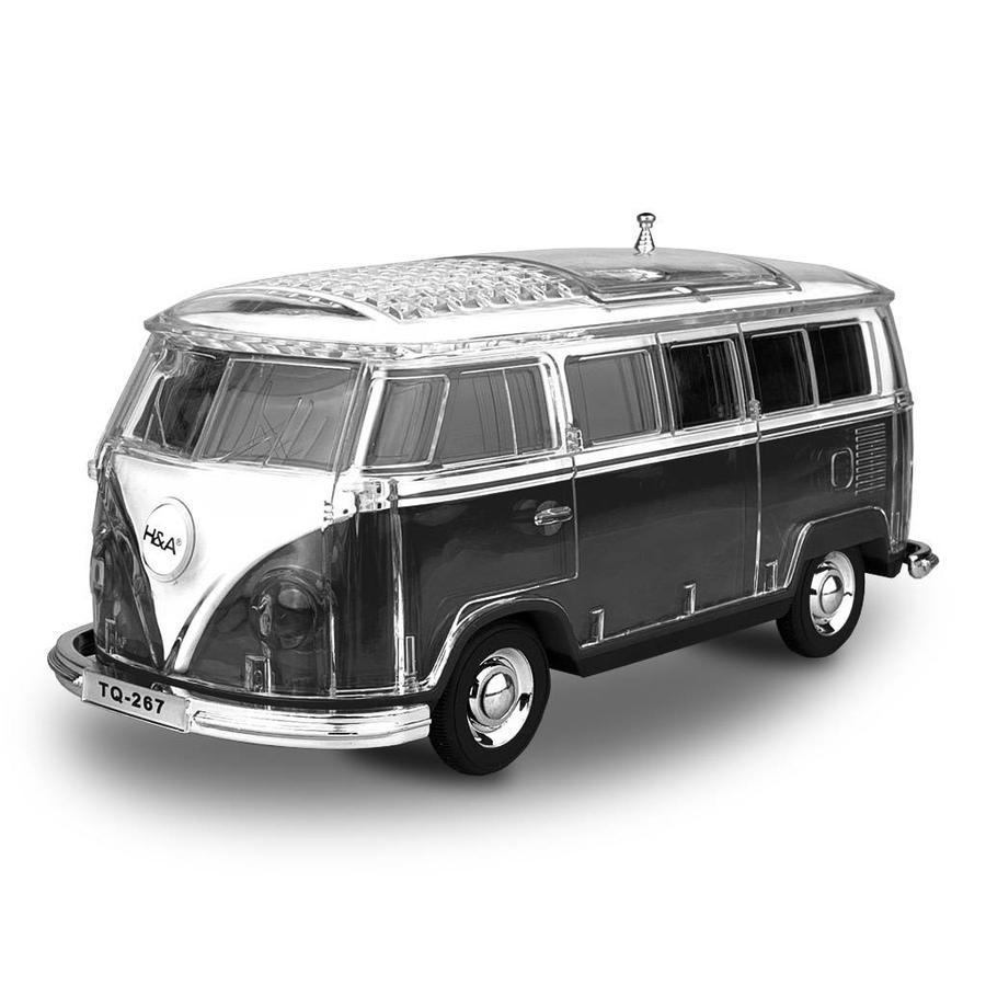 H&A Crystal Van Portable LED Speaker (TQ-267)