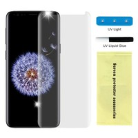 Nano UV Full Cover Tempered Glass for Galaxy S9 - Single Pack