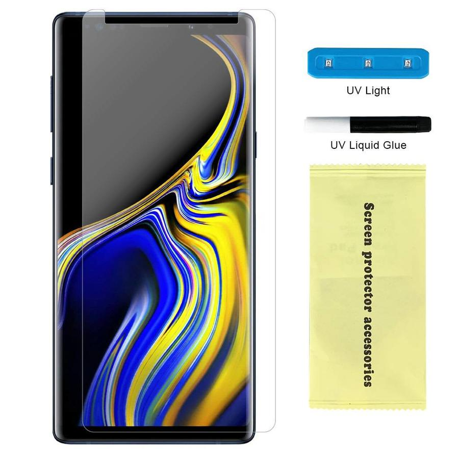 Nano UV Full Cover Tempered Glass for Galaxy Note 9 - Single Pack