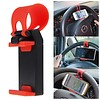 Steering Wheel Rubber Band Car Phone Holder / Mount