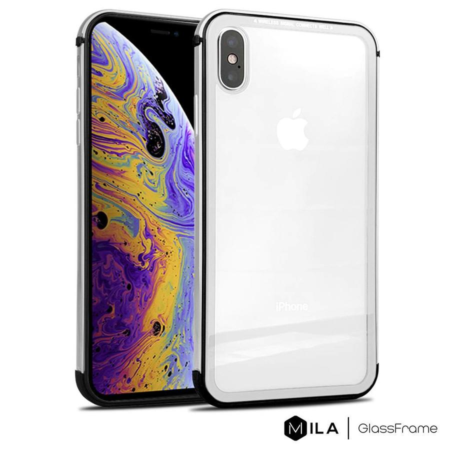 MILA   GlassFrame Case for iPhone XS Max
