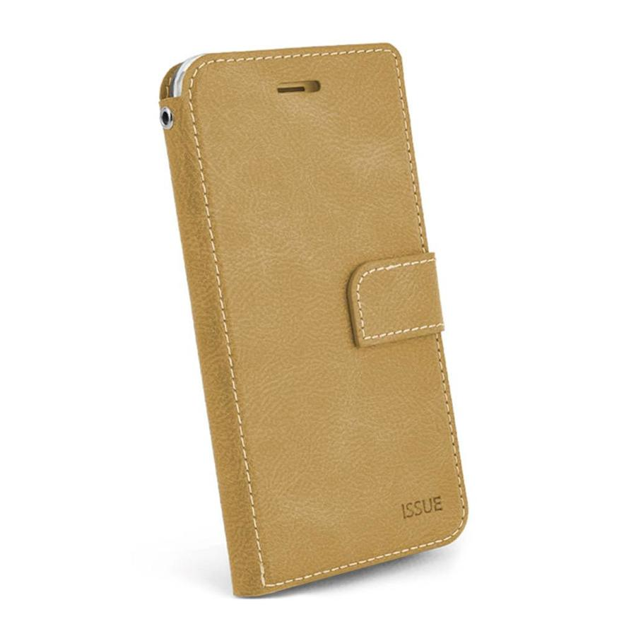 Molan Cano Issue Diary PU Leather Wallet Case for iPhone X / XS