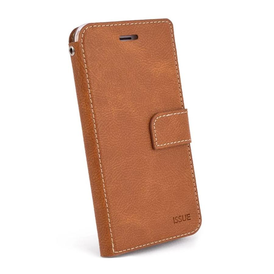 Molan Cano Issue Diary PU Leather Wallet Case for iPhone XS Max