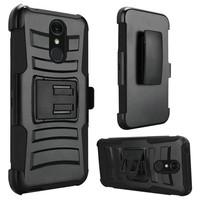 Armor Kickstand Holster Clip Case for Alcatel 1X Evolve