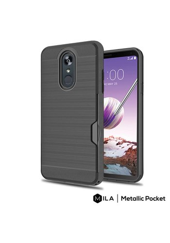 MILA | Metallic Pocket Case for LG Stylo 4