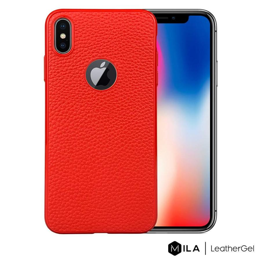 MILA | LeatherGel Case for iPhone XS Max