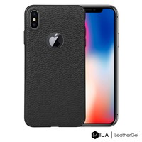 MILA   LeatherGel Case for iPhone X / XS