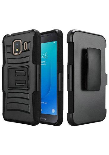 Armor Kickstand Holster Clip Case for Galaxy J2 Core (2018)