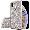 Metallic Chrome Frozen Glitter Case for iPhone X / XS