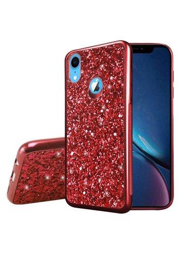 Metallic Chrome Frozen Glitter Case for iPhone XR