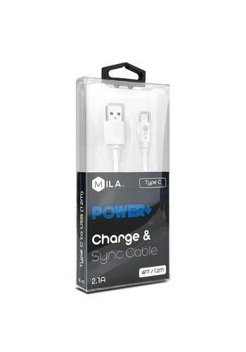 MILA | Type C POWER+ Charge & Sync Cable