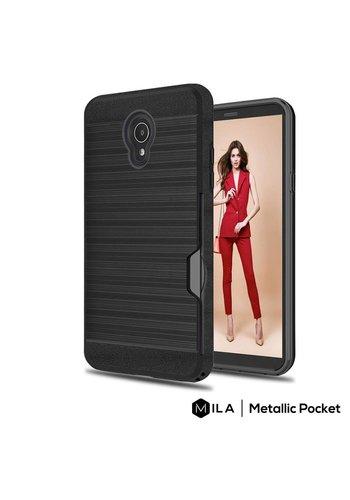MILA   Metallic Pocket Case for Alcatel 1X Evolve