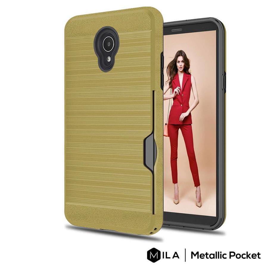 MILA | Metallic Pocket Case for Alcatel 1X Evolve