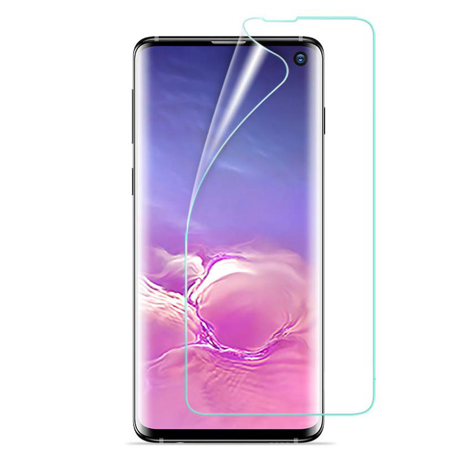 Full Cover Premium Curved Plastic Screen Protector For Galaxy S10
