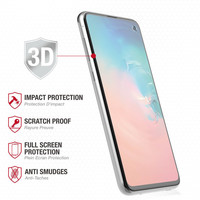Ballistic Full Edge Tempered Glass with Finger Print Cut-Out for Galaxy S10e