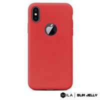 MILA   Slim Jelly Case for iPhone X / XS