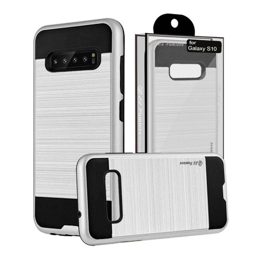 Guardian PC+TPU Metallic Brushed Design Case for Galaxy S10e - Shield Line