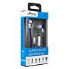 eVogue Super Bass Flat Cable Earphones Ripple HF003ST