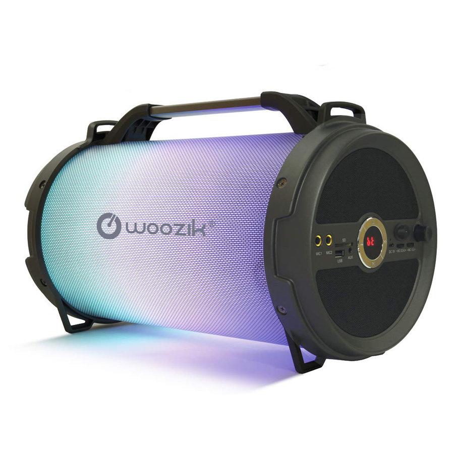 Woozik Rockit Boom Portable LED Wireless Bluetooth Speaker