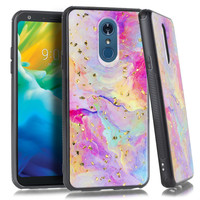 Marble Chrome Flake Case for LG Stylo 4