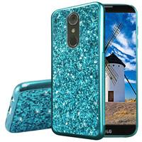 Metallic Chrome Frozen Glitter Case for LG Stylo 4