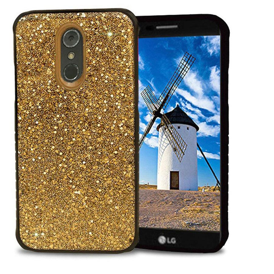 Slim Armor Frozen Sparkle Glitter Design Case for LG Stylo 4