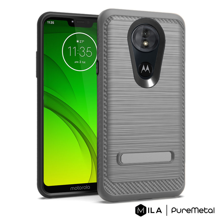 MILA   PureMetal Case for Motorola Moto G7 Power / Supra