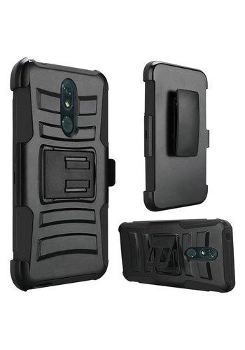 Armor Kickstand Holster Clip Case for LG Stylo 5