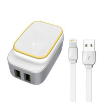 LDNIO Dual USB LED Touch Lamp Home Charger (A2205) 2.4A